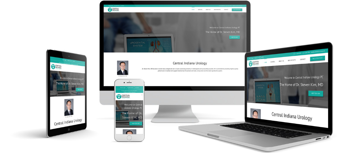 Central Indiana Urology Responsive Website Design