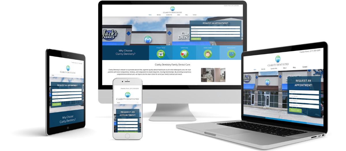 Clarity Dentistry Responsive Website Design