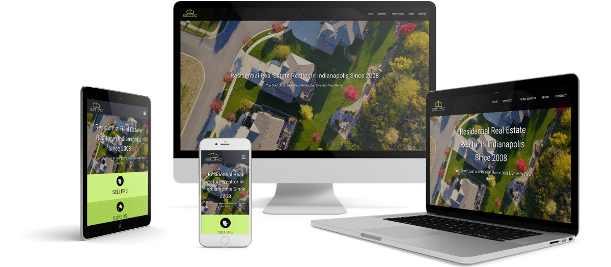 Court Realty Responsive Website Design