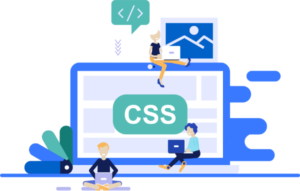 Easy Website Builder Illustration